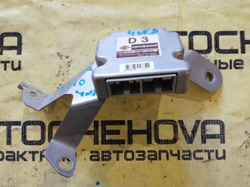 Блок управления акпп Nissan Tiida Latio SNC11-122805 HR15 2007