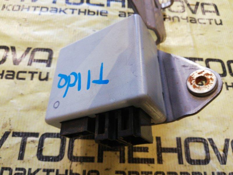 Блок управления рулевой рейкой Nissan Tiida Latio SNC11-122805 HR15 2007
