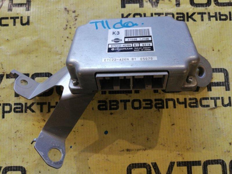Блок управления акпп Nissan Tiida C11-122153 HR15 2006
