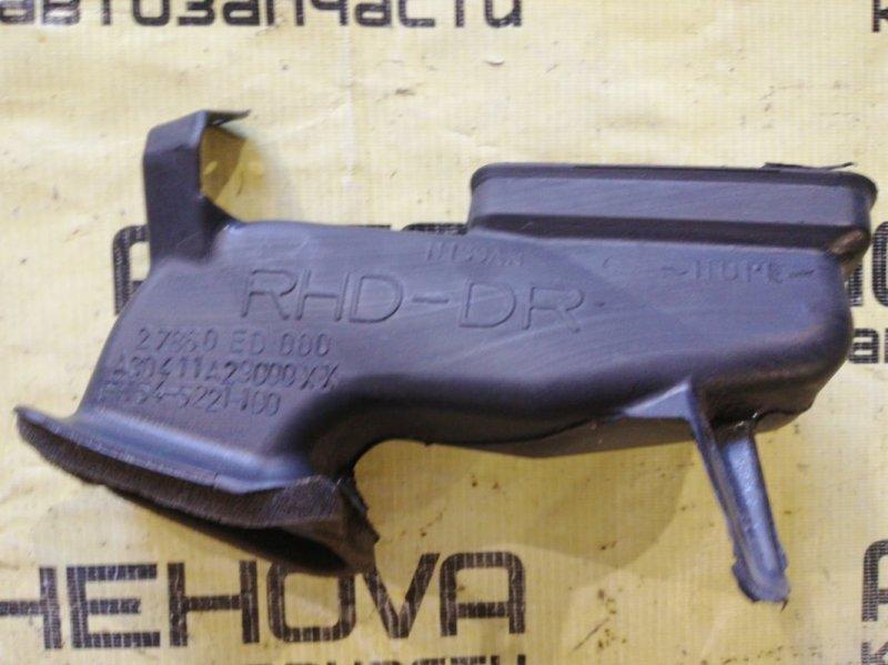 Воздуховод Nissan Tiida C11-122153 HR15 2006