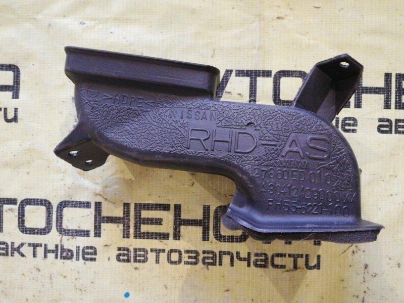 Воздуховод Nissan Tiida Latio SNC11-122805 HR15 2007