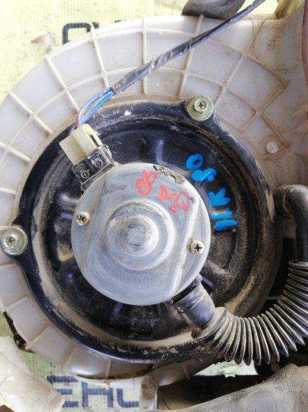 Мотор печки Toyota Land Cruiser FZJ80-0117393 1FZFE 1995 задний