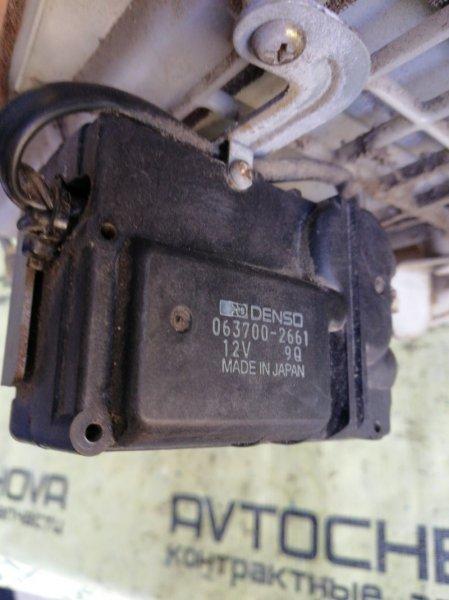 Сервопривод заслонок печки Toyota Land Cruiser FZJ80-0117393 1FZFE 1995 передний