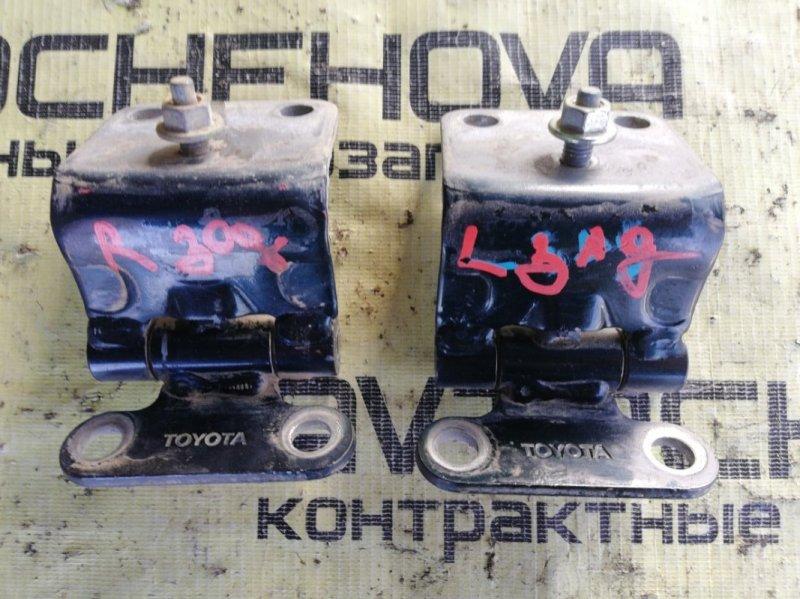 Крепление двери Toyota Land Cruiser FZJ80-0117393 1FZFE 1995 заднее