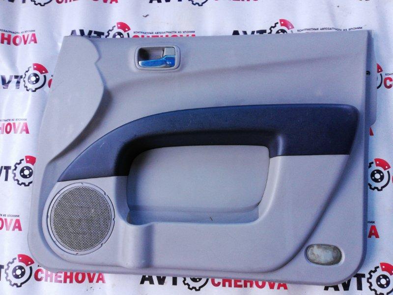 Обшивка двери Mitsubishi L200 2006 передняя правая