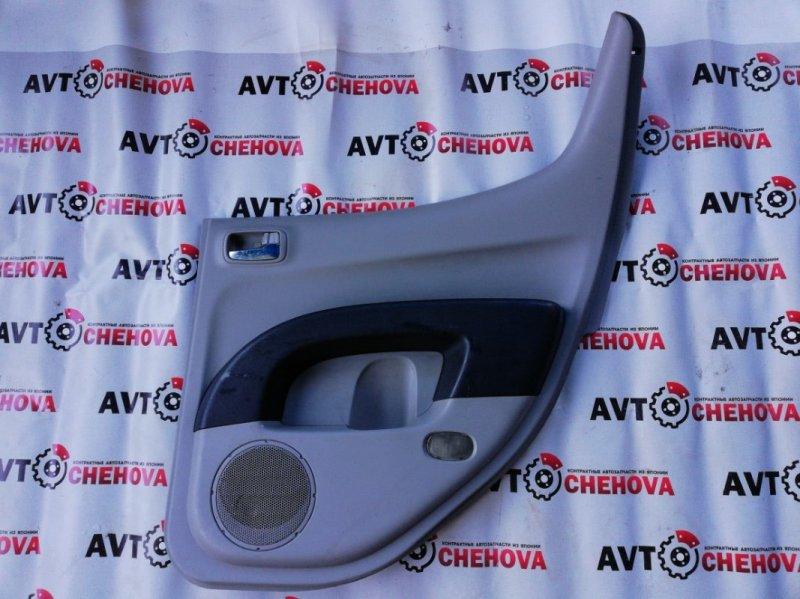Обшивка двери Mitsubishi L200 2006 задняя правая
