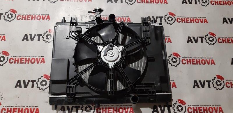 Радиатор двс Nissan Tiida Latio SC11-207080 HR15DE 2010