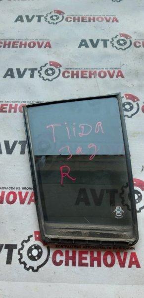 Стекло Nissan Tiida C11-200356 HR 15 2008 заднее правое