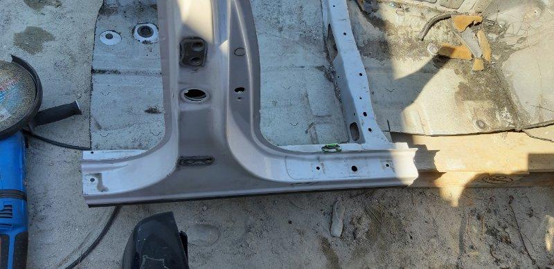 Порог Toyota Mark 2 JZX90-6576042 1JZ-GE 1994 передний правый