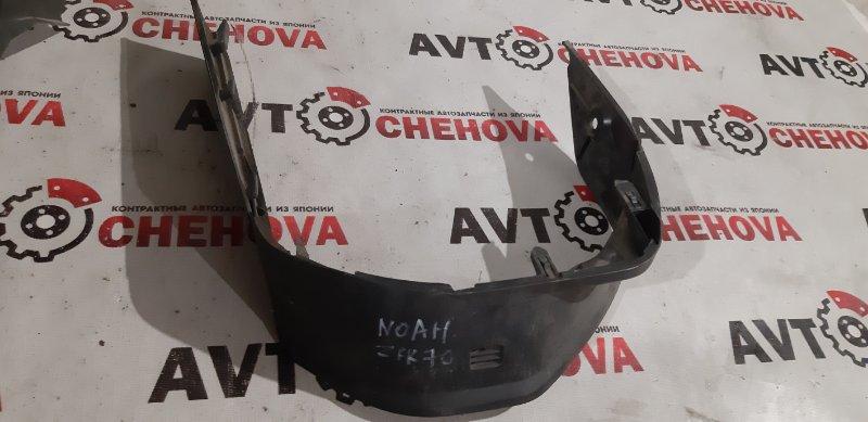 Консоль панели приборов Toyota Noah ZRR-70 передний нижний
