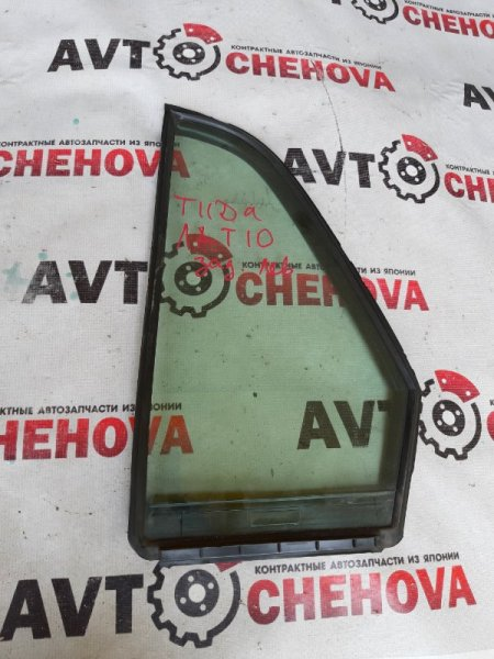 Форточка двери Nissan Tiida Latio SC11-207080 HR15DE 2010 задняя левая