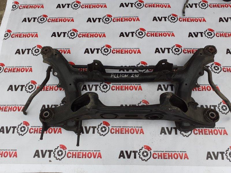 Балка подвески (пробег 72 тыс) Toyota Allion ZZT245-0030866 1ZZFE 2005 задняя