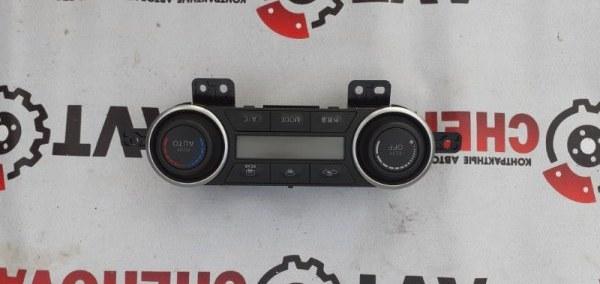 Блок управления климат-контролем Nissan Tiida Latio SC11-250344 HR15DE 2010