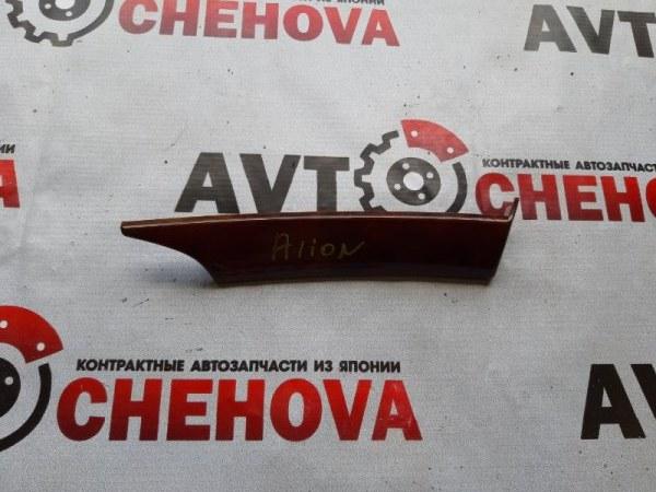 Накладка консоли Toyota Allion ZZT245-0030866 1ZZFE 2005 передняя правая