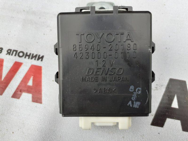 Блок управления стеклоочистителем Toyota Allion ZZT245-0030866 1ZZFE 2005