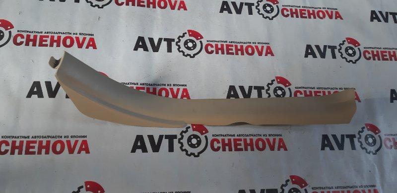 Накладка на порог Toyota Allion ZZT240-0136854 1ZZFE 2007 задняя левая