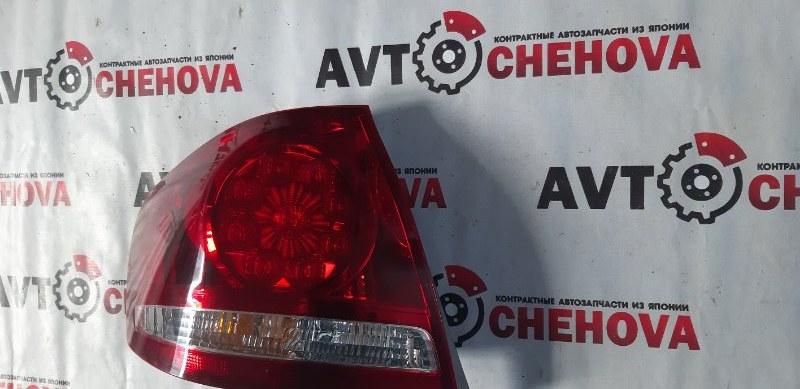 Стоп-сигнал Toyota Allion ZZT240-0136854 1ZZFE 2007 задний левый