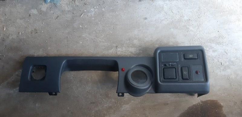 Консоль торпеды Toyota Land Cruiser FZJ80-0117393 1FZFE 1995 передний правый