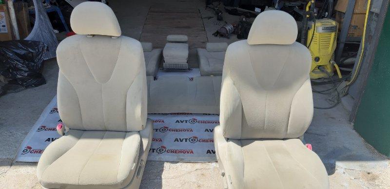 Сиденье(комплект) Toyota Camry ACV40-3007762 2AZFE 2006