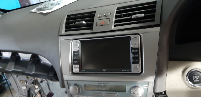 Магнитола Toyota Camry ACV40-3007762 2AZFE 2006