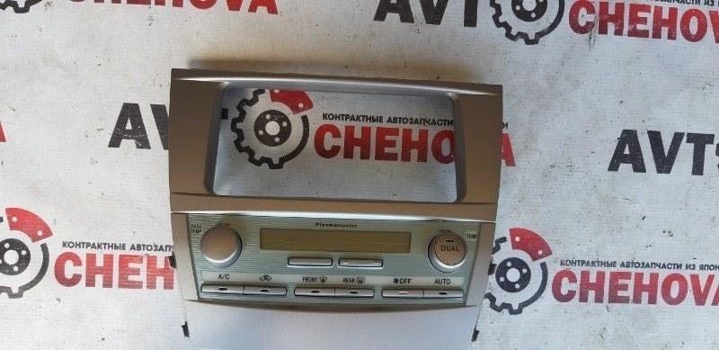 Консоль магнитофона Toyota Camry ACV40-3007762 2AZFE 2006