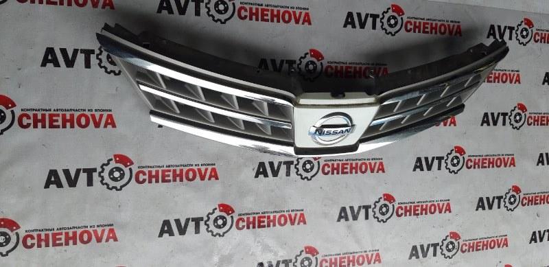 Решетка радиатора Nissan Tiida Latio SC11-150851 HR15 2009