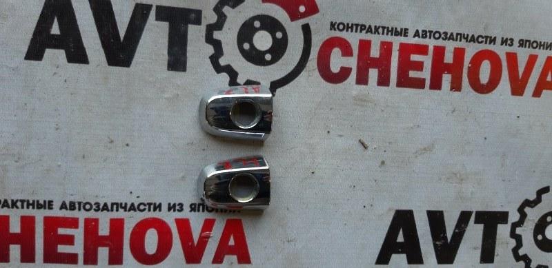 Накладка на ручку двери Toyota Allion ZZT240-0136854 1ZZFE 2007 передняя левая