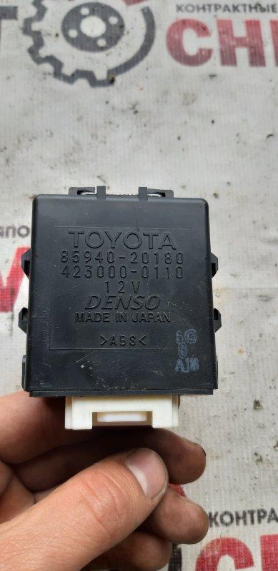 Блок управления стеклоочистителем Toyota Allion AZT240-5007549 1AZFSE 2005