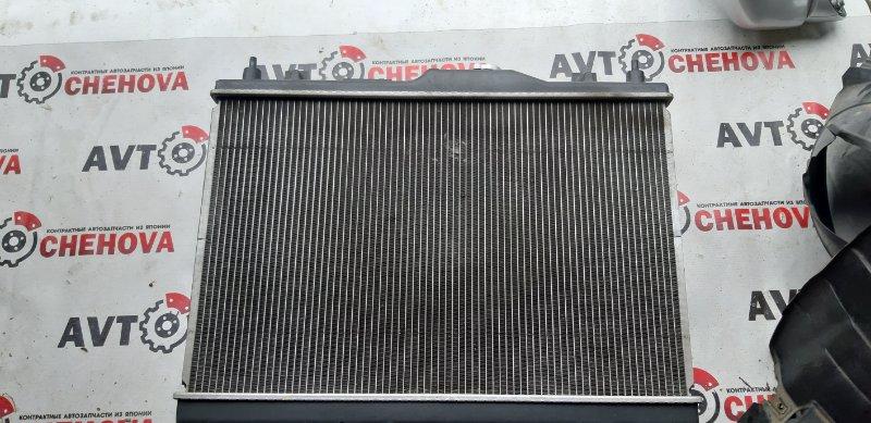 Радиатор двс Nissan Tiida Latio SC11-204318 HR15 2009