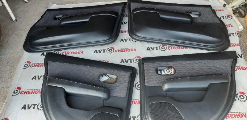 Обшивка двери (комплект) Nissan Tiida Latio SC11-204318 HR15 2009