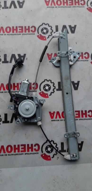 Стеклоподъемник Nissan Tiida Latio SC11-204318 HR15 2009 передний правый