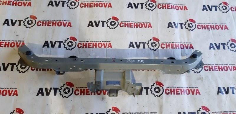 Рамка радиатора Nissan Tiida Latio SC11-204318 HR15 2009 верхняя