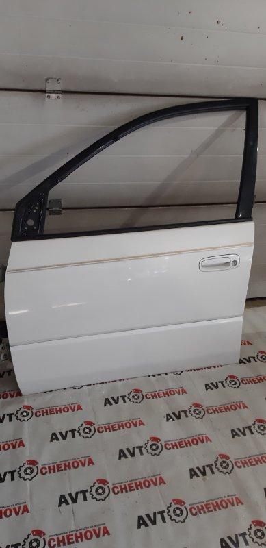 Дверь Toyota Ipsum SXM10-7121673 3S-FE 1999 передняя левая