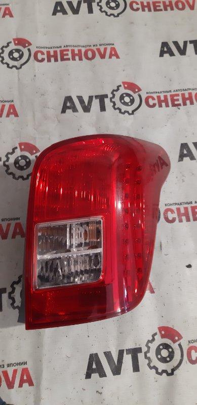Стоп-сигнал Toyota Corolla Filder ZRE144-9004685 2ZR-FE 2007 задний правый