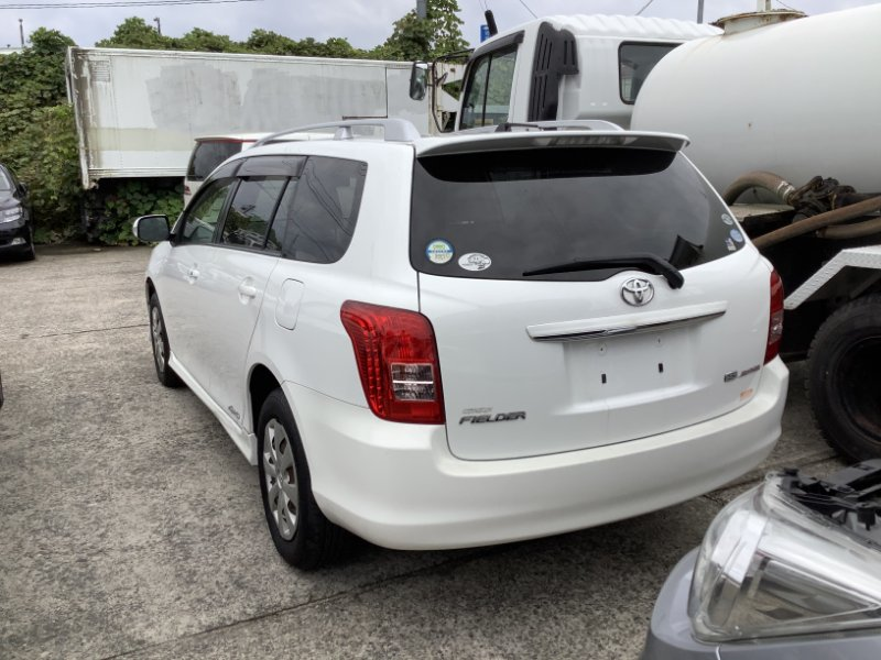 Задняя часть автомобиля Toyota Corolla Filder ZRE144-9004685 2ZR-FE 2007 задняя