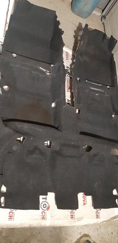 Ковровое покрытие Toyota Corolla Filder ZRE144-9004685 2ZR-FE 2007