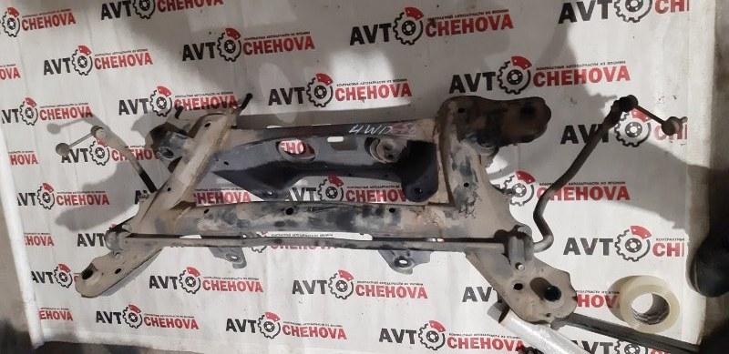 Балка подвески Toyota Corolla Filder ZRE144-9004685 2ZR-FE 2007 задняя