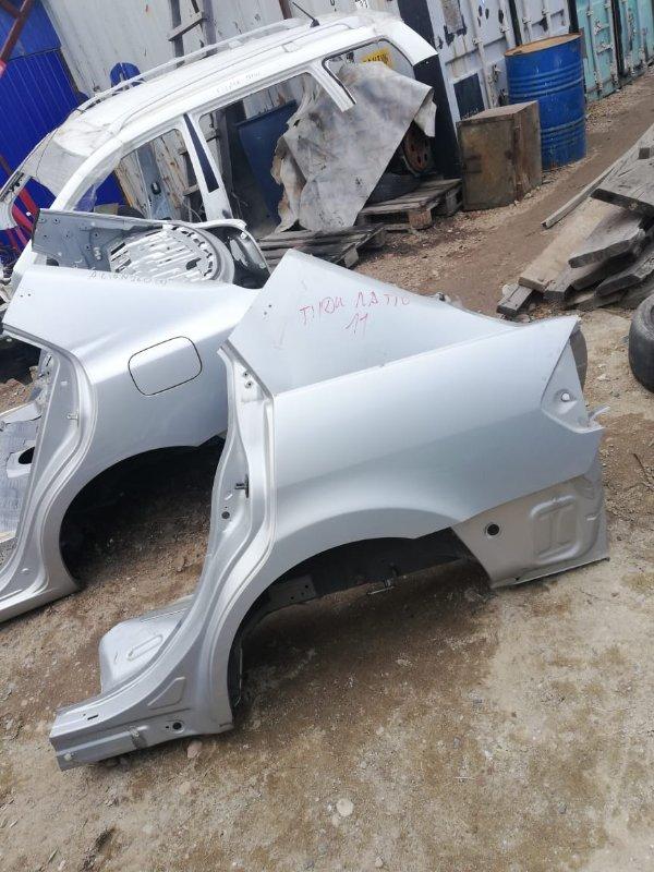 Крыло (в отличном состоянии) Nissan Tiida Latio SC11-300690 HR 15 2010 заднее левое