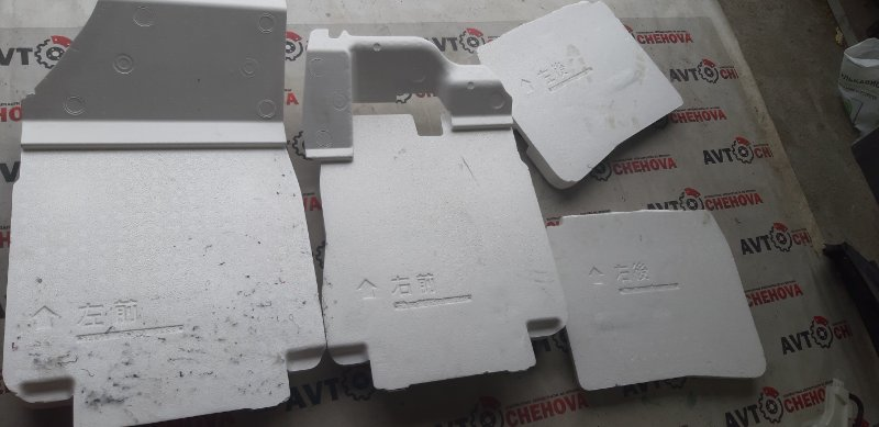 Ковровое покрытие(уплотнитель пола) Nissan Tiida Latio SC11-258742 HR 15 2010