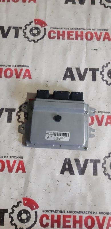 Блок управления двс Nissan Tiida Latio SC11-258742 HR 15 2010