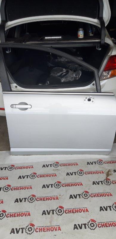 Дверь (в отличном состоянии) Nissan Tiida Latio SJC11-029718 MR18DE 2008 передняя правая
