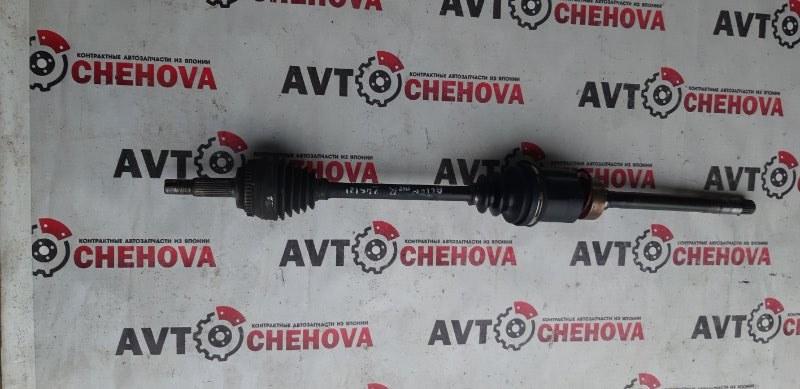 Привод (пробег 106 тыс) Toyota Allion ZZT245-00340958 1ZZ-FE 2006 передний правый