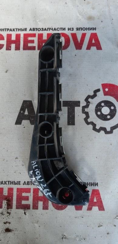 Крепление бампера Toyota Allion ZRT265-3007836 2ZR-FE 2008 переднее правое