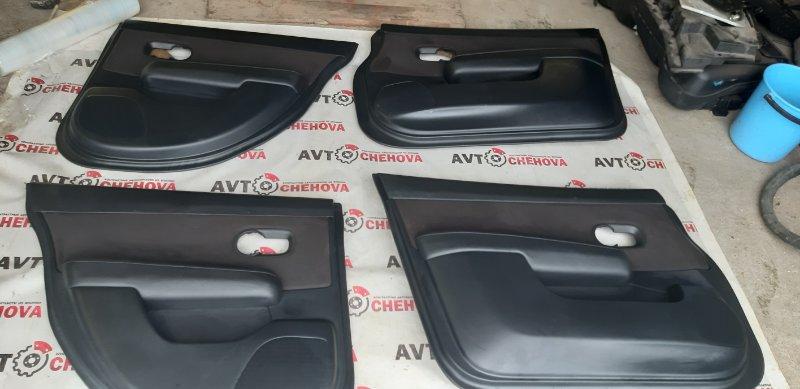 Обшивка двери (комплект) Nissan Tiida Latio SJC11-029718 MR18DE 2008