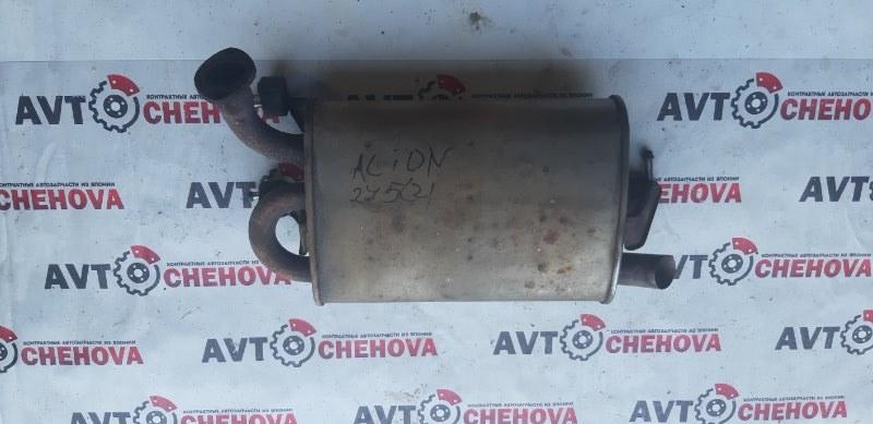 Глушитель (пробег 104 тыс) Toyota Allion ZZT245-00340958 1ZZ-FE 2006