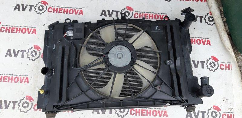 Радиатор (пробег 104 тыс) Toyota Allion ZRT265-3007836 2ZR-FE 2008