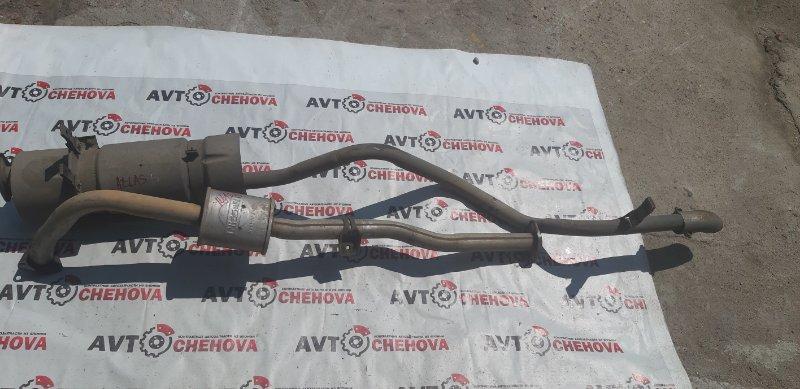 Глушитель (пробег 58 тыс) Nissan Atlas P4F23-040903 TD27 1997