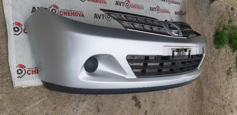 Бампер (в отличном состоянии) Nissan Tiida Latio SC11-254158 HR15 2010 передний
