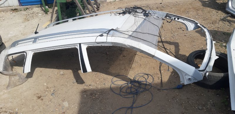 Крыша (без рейлингов) Toyota Corolla Filder ZRE144-9004685 2ZR-FE 2007