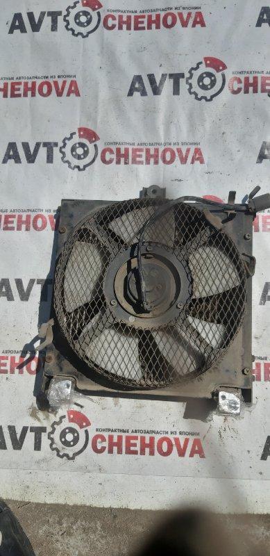 Радиатор кондиционера (пробег 58 тыс) Nissan Atlas P4F23-040903 TD27 1997